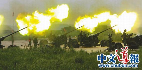 上海举行大规模防空演练