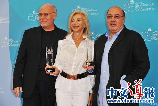 丹提·费瑞提和弗朗西斯卡获终身成就奖