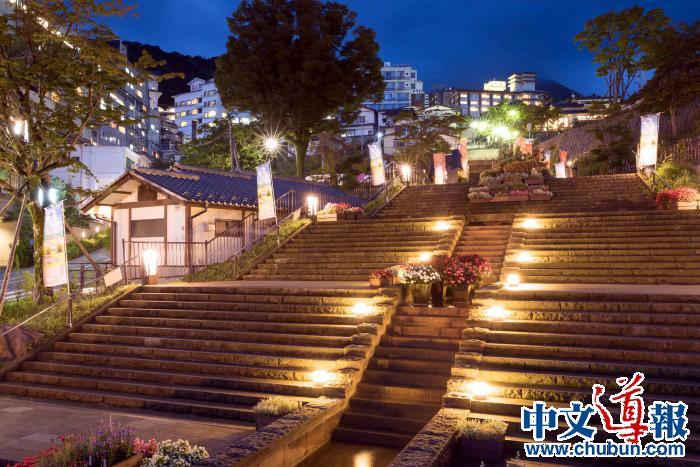 留学生推动伊香保温泉提升旅游便利性