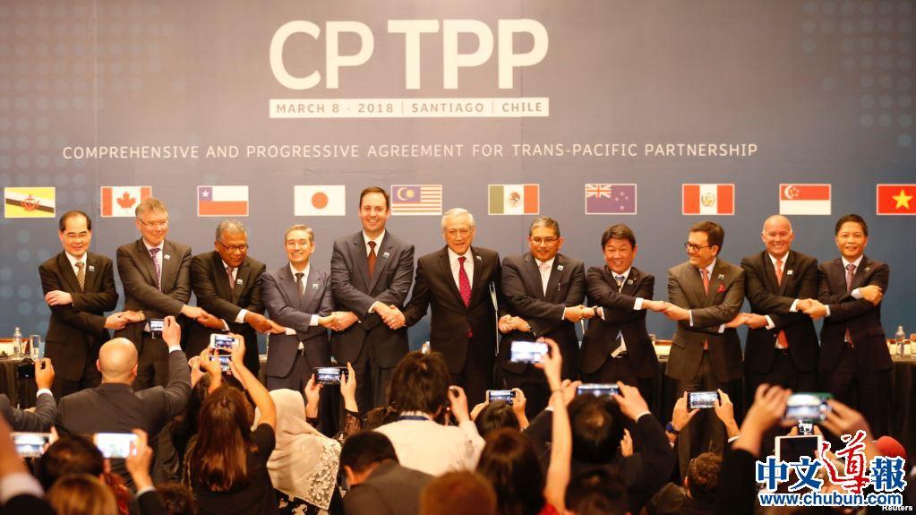 TPP11生效在即展现日本地缘存在感
