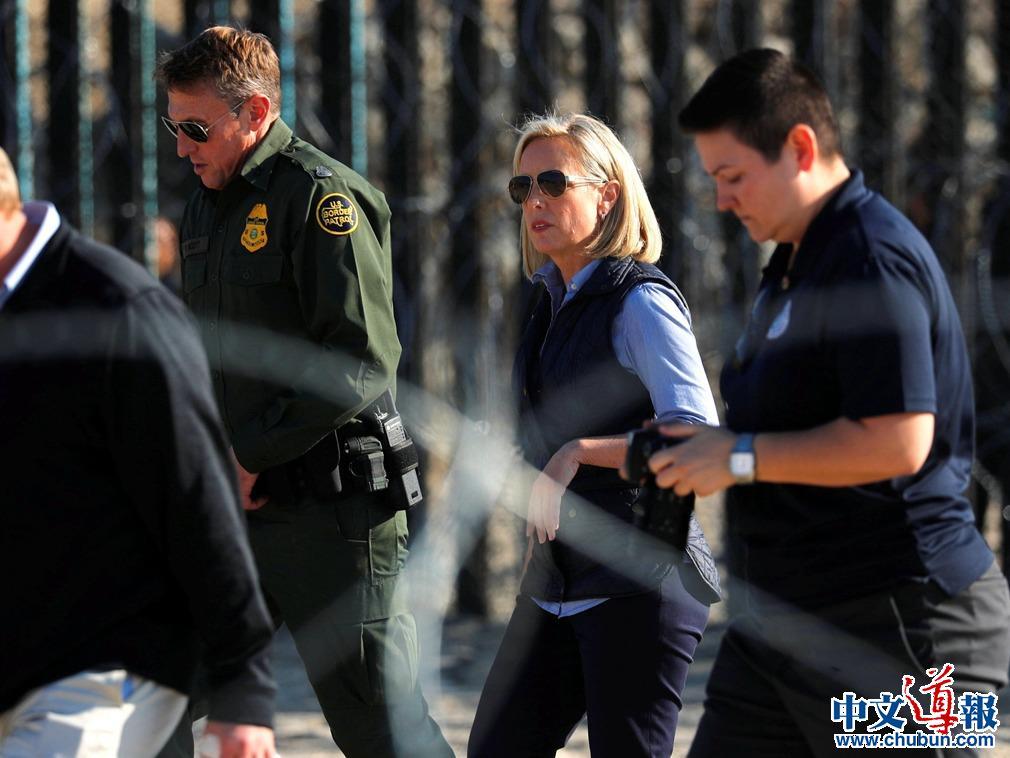特朗普宣布国安部长离任:与边境移民有关