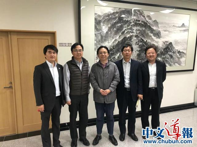 中国驻大阪观光代表处石泽毅首席代表访问香川县