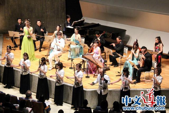 从南京到东京:张滨二胡演奏会东京首演成功