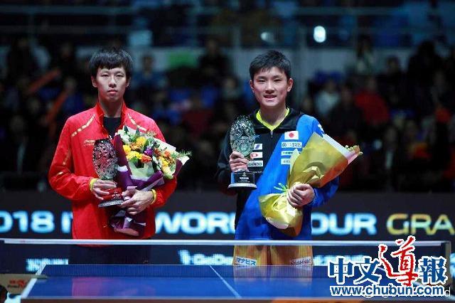 张本智和乒联终总决赛夺冠