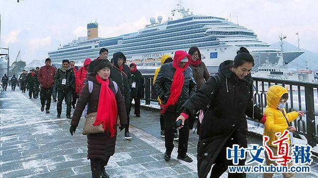 2月份访日中国人微增1%依然居首位