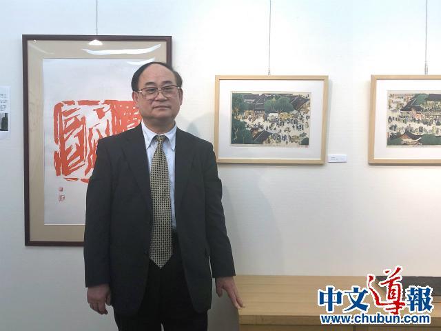 刘长青:用浮世绘还原《清明上河图》