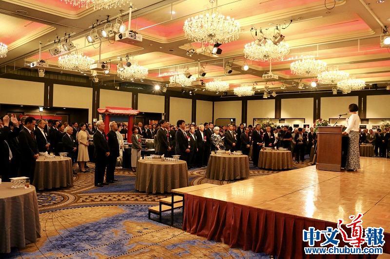 驻长崎总领馆举办国庆70周年纪念招待会