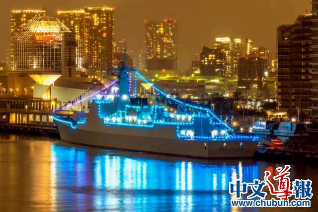 太原舰与海上自卫队舰艇展开联合训练