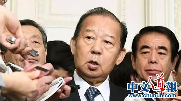 日本执政党干事长带着安倍重托访华