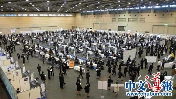 日本企业雇佣外籍留学生出现停滞不前
