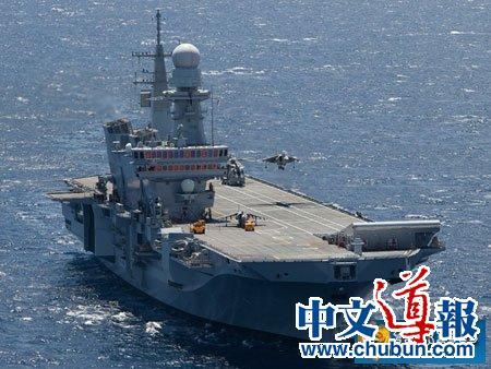 日本首艘航母悄悄下水:战力匹敌辽宁舰