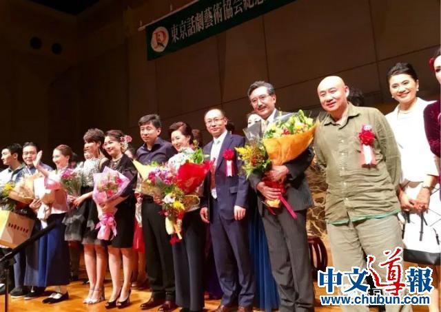就在10月9日,《雷雨》特别公演揭开旅日华人演剧史新篇