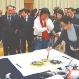 华人艺术家喜迎新春