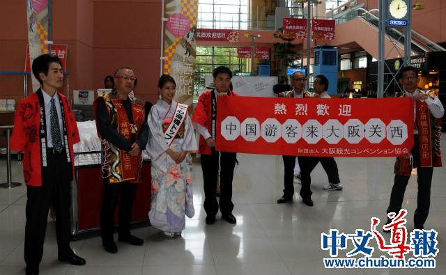 访日中国人连续六个月创新高
