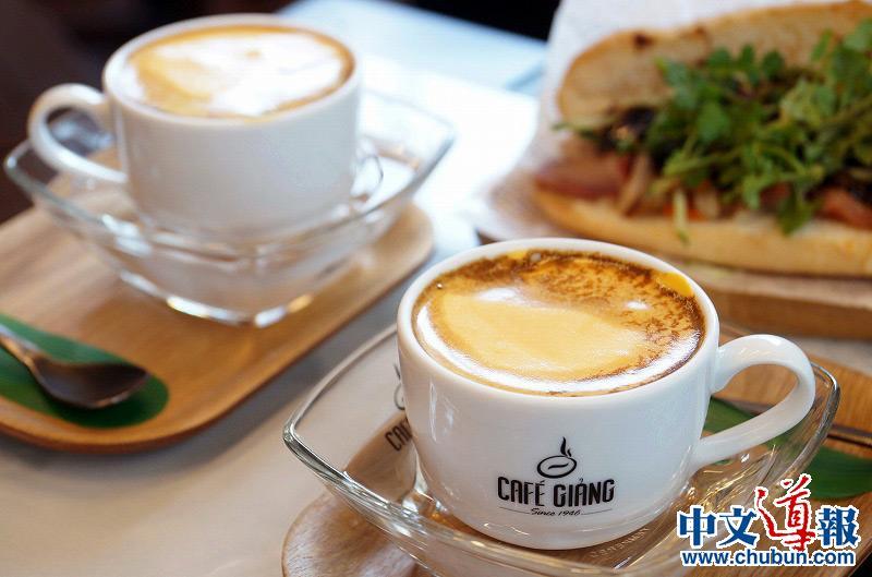 CAFÉ GIANG:生鸡蛋与黑咖啡的美味协奏曲