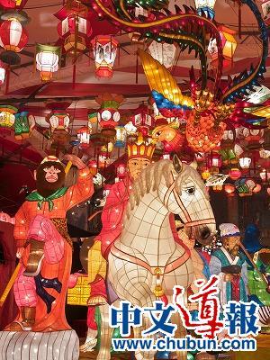 日本各地中华街隆重庆春节