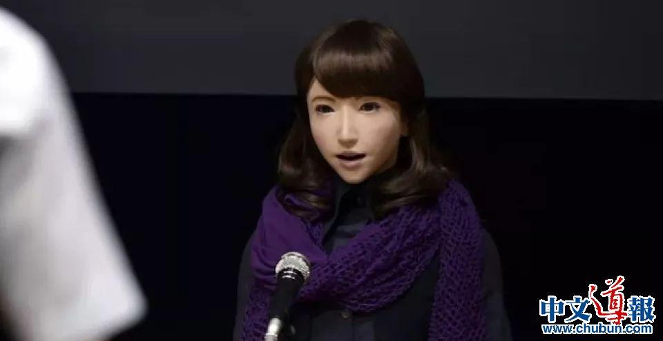 日本高颜值美女新闻主播机器人正式上岗