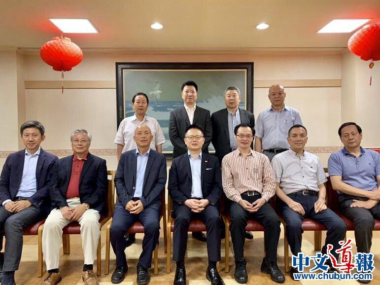 第十届全华联领导团队拜会大使馆领事部
