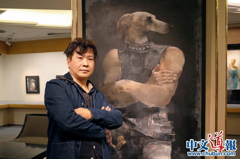 蔡国华油画展四临日本桥三越美术画廊
