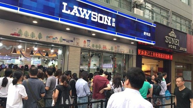 罗森进入南京成最早外资便利店