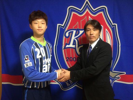 中国前国脚之子入选日本球队(图)